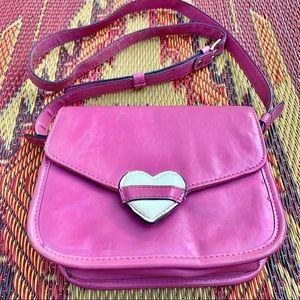 Topshop Pink Heart Purse